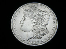 USA, 1 Dollar, 1883 O,  Morgan,  Silber/900.! orig.! f/St.!