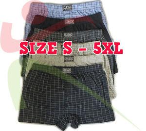 3 6 12 Pack Para Hombre Clasico Deportes Pantalones Cortos De Algodon Jersey Boxer Ropa Interior Breve Ebay