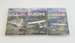 Details about Flight Simulator Flight 1 Ultimate Terrain X USA Europe  Canada Expansion Bundle