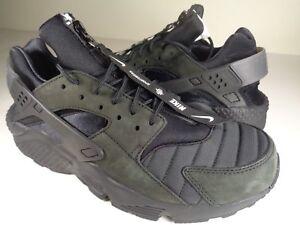 best sneakers 42e03 c7e51 Nike Air Huarache Run QS NYC New York City Black White SZ 9 (AJ5578 ...