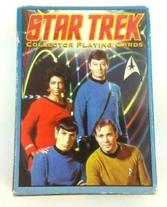 Hoyle-Star-Trek-Original-Series-1998-Collector-Playing-Cards-First-Series-SEALED