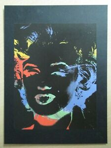 Andy-Warhol-serigraphic-print-1979-86-039-Marilyn-039-Negatif-Series-1988-Mint