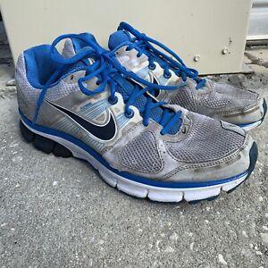 Mens-NIKE-ZOOM-AIR-PEGASUS-28-443805-104-Gray-Blue-Running-Shoes-SIZE-11