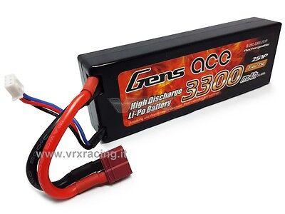 Romantico Batteria Lipo T-plug Ricaricabile 3300 Mah 7.4v (2s) 25c Per 1/10 1/8 Vrx 85274