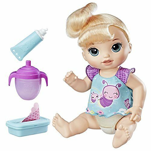 Baby Alive Twinkles N 'Spurt (bionda) bambola parla inglese e spagnolo