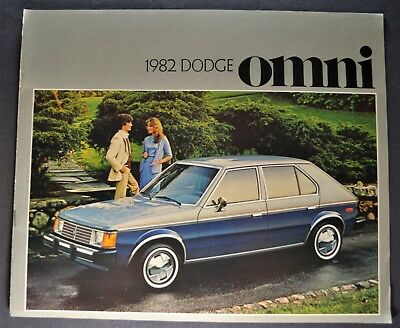 1982 Chrysler Plymouth Horizon 8-page Original Car Dealer Sales Brochure Catalog