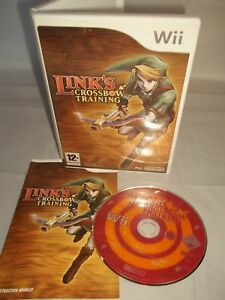 Nintendo-Wii-Console-Game-Links-Crossbow-Training-COMPLETE