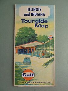 Details about 1969 Gulf Tourgide Road Map ILLINOIS INDIANA Highway on northern indiana and michigan map, illinois state highway map, central illinois map, illinois highway construction map, indiana road maps atlas, brown county indiana road map, missouri and illinois road map, detailed illinois map, illinois area map, southern indiana road map, jackson county indiana road map, detailed indiana road map, indiana toll road exits map, underground teays river ohio map, indiana road map highway, iowa and illinois road map, rockford illinois city map, northern ohio cities map, ohio and illinois map, illinois political map,