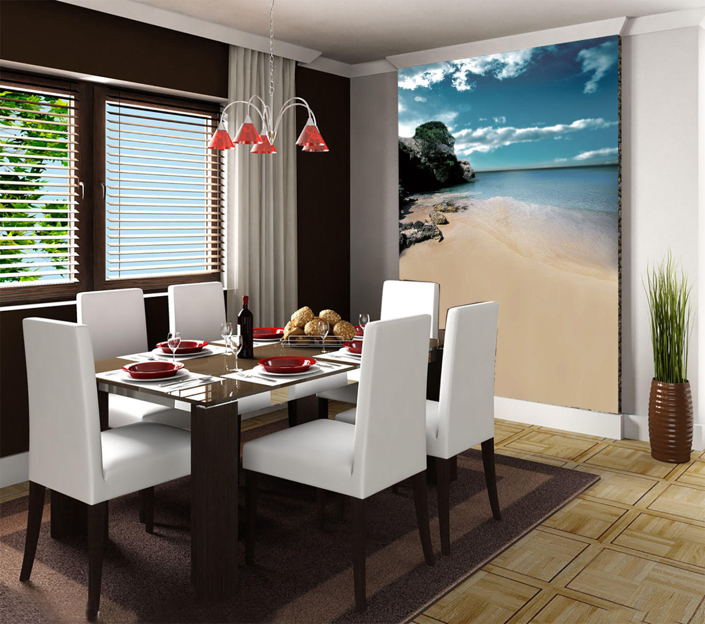 3D Himmelstrand 573 Tapete Tapeten Mauer Foto Familie Tapete Wandgemälde DE