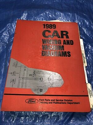 1989 Ford Thunderbird Wiring Diagram Wiring Diagrams Library