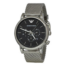 Emporio Armani AR1808 Mens Classic Chronograph Stainless Steel Watch