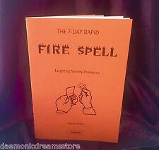 THE 7 DAY RAPID FIRE SPELL Finbarr Occult Magic White Black Grimoire Magick