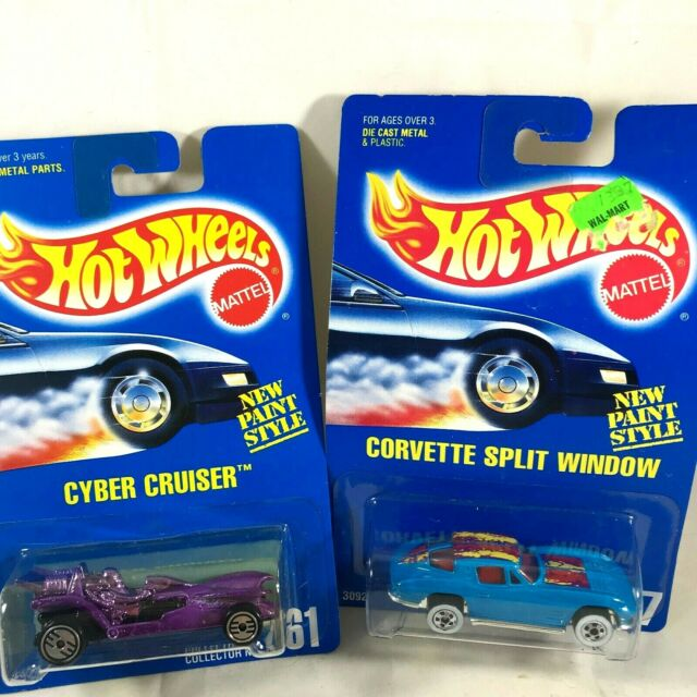 Hot Wheels New Paint Style Series Blue Corvette Purple ...