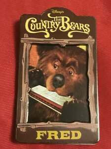 Disney Auction Exclusive P I N S Country Bear Fred Pin Le 100 Ebay