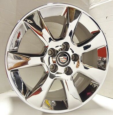 SET OF 4!! Cadillac ATS PVD Chrome 17 x 8 Wheels!! DON'T MISS THIS LOW PRICE!!