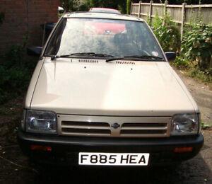 Nissan-Micra-1989-Genuine-Time-warp-Garage-Find