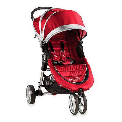 Baby Jogger 2016 City Mini Single Stroller New Crimson// Gray Free Shipping!