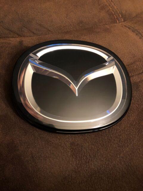 A OEM LOGO Mazda3 Mazda6 Front Grille Emblem BADGE 07 08 09 10-15 GRIL MAZDA 3