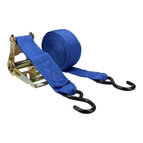 2 Trailer Car Recovery Trailer Ratchet Lashing Tie Down Strap 750kgs 30ftx50mm