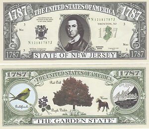10 New Mexico NM State Quarter Novelty Money Bills Lot
