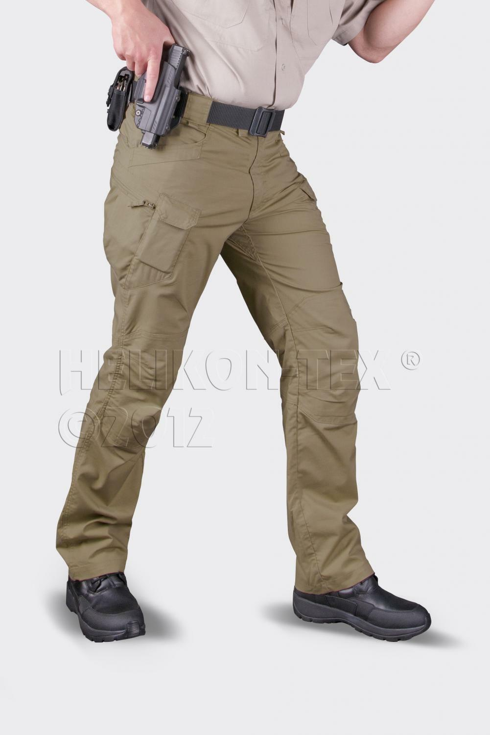 HELIKON TEX UTP URBAN TACTICAL 32/34 PANTS Trousers Hose Coyote 32/34 TACTICAL Medium Long 633e84
