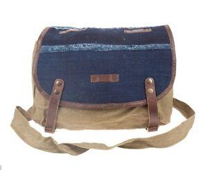 Image is loading Authentic-WILL-Leather-Goods-INDIGO-SURPLUS-CROSSBODY-Bag- ed07ffe76