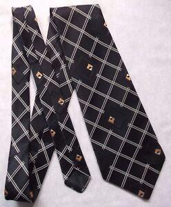 Vintage-Tie-MENS-Wide-Necktie-RETRO-ST-MICHAEL