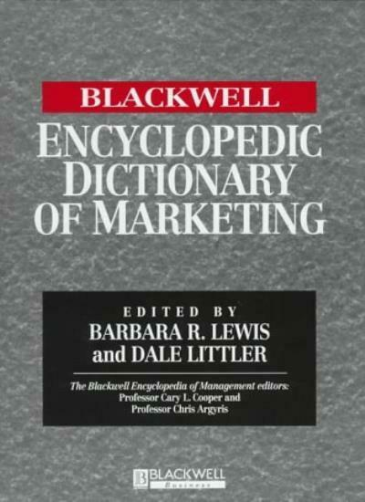 The Blackwell Encyclopedia of Management and Encyclopedic Dictionaries, The Bla