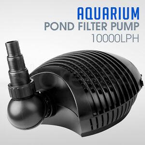 Aquarium Pond Filter Pump 10 000lph Ebay
