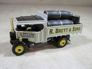 Vintage-1994-Matchbox-Models-Yesteryear-1922-Foden-Steam-Truck-Haulage-YAS-12