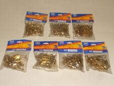 Dolphin 3 packs Brass Snap Swivels 12 each Size 5 #2102-5
