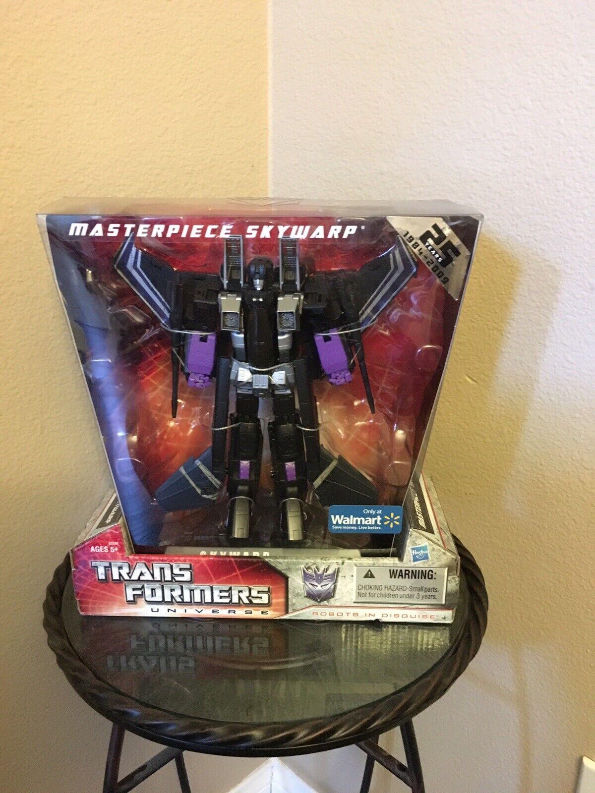 Transformers 25th Aniversario Obra Maestra Skywarp Deluxe (producto Exclusivo) NUEVO