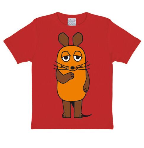 Rosso la spedizione con il mouse-il Mouse Bambini T-shirt LOGOSHIRT-TV cartoon