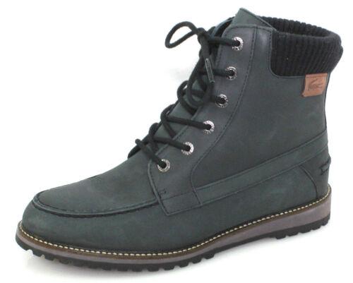 Neu 39 Damen Leder Chukka 4 Lacoste Eclose Grau Gr Schnürstiefel Boots Schuhe FJuTl135Kc