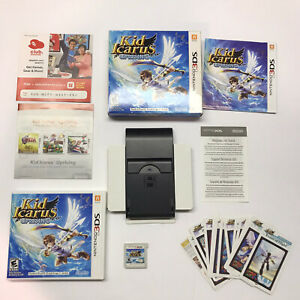Kid Icarus Uprising 3ds Complete Box Game Cards Manual Stand Case BOX PROTECTOR