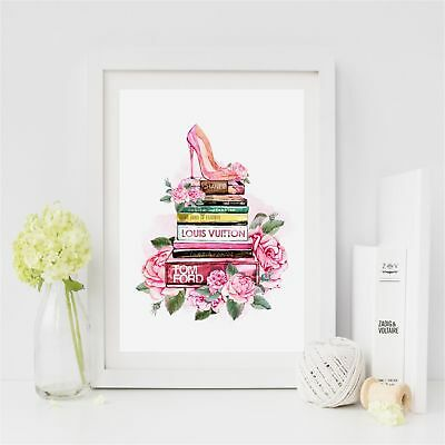 NEW Passion for Fashion Watercolour Print Women's by BespokeMoments