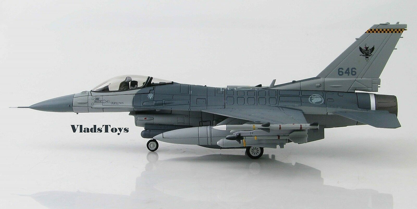 Hobby Master 1 72 F - F-16c Faucon Rsaf 143 Sqn, 646,Tengah Ab,Singapore HA3839