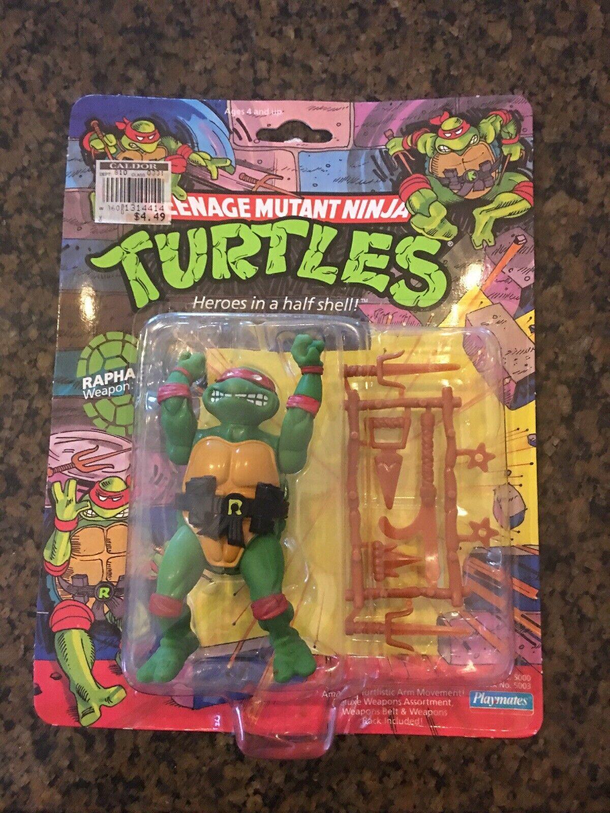 New TMNT Raphael - Playmates 1988 TMNT Ninja Turtles