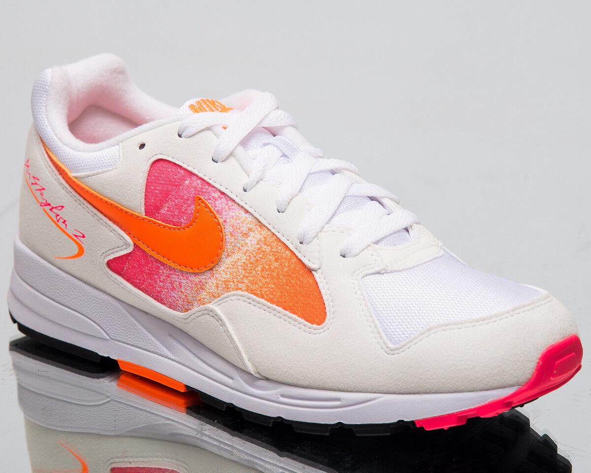 Nike Air Skylon II Men New White orange Pink Lifestyle Sneakers AO1551-106