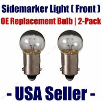 Sidemarker (front) Light Bulb 2pk - Fits Listed Citroen Vehicles - 1895