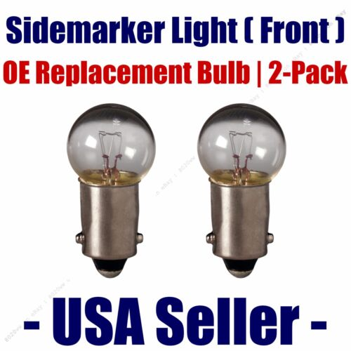 1895 Fits Listed MG Vehicles Front Sidemarker Light Bulb 2pk
