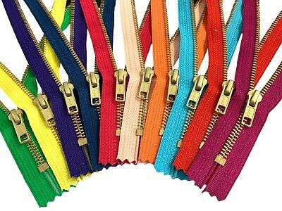 3 Inches Made in USA Great for Craft Projects 3 4 5 6 or 7 Inches YKK Mask /& Apparel Zippers 25 Pieces Assortment