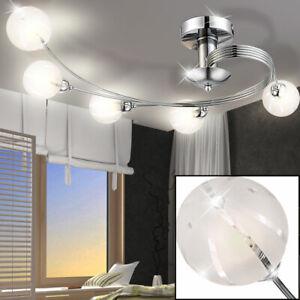 Wand Leuchte Luxus Badezimmer Glas Nickel matt silber Lampe