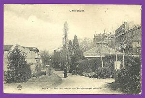 CPA-63-ROYAT-Les-Jardins-de-l-039-etablissement-thermal