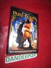 Puss in Boots Antonio Banderas DVD Movie