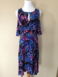 41e5a13b8037 Image is loading New-Anthropologie-Elia-Open-Shoulder-Floral-Dress-by-