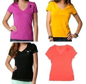 Fox Racing miss clean scoop neck tee Wild Cherry Girls Womens Ladies Top T shirt