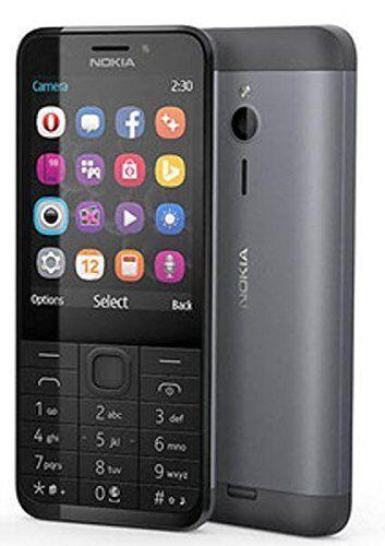 Nokia 230 dark silber