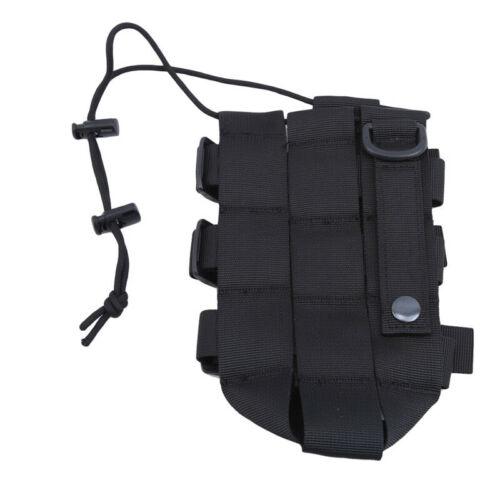 Outdoor Tactical Water Bottle Bag Military Hiking Belt Holder Kettle Pouch SK