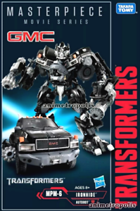 (DHL rápido) TAKARA TRANSFORMERS MPM-6 Serie Iron Hide obra maestra Movie Figura